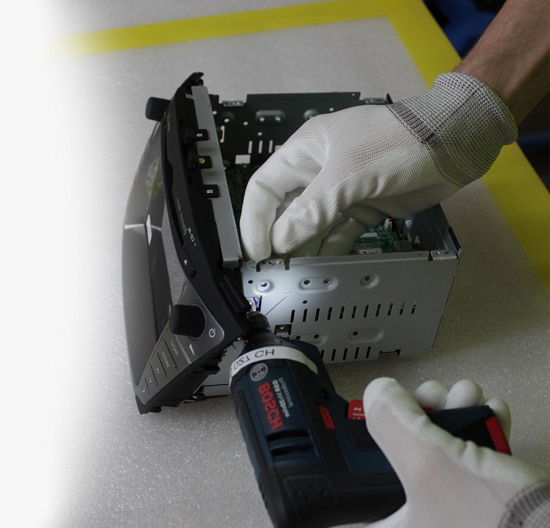 Opravy, montážne práce